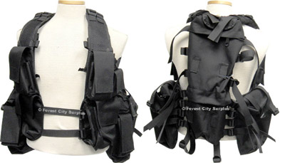 Swat Style Tactical Load Bearing Vests