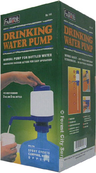 World Famous® Drinking Bottle Water Pumps