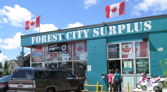 Forest City Surplus - 12,000 square feet in London Ontario Canada