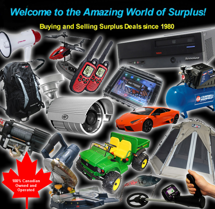 Welcome to Forest City Surplus Canada